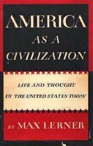 AmericaAsACivilization