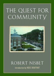 Quest for Community, Robert Nisbet